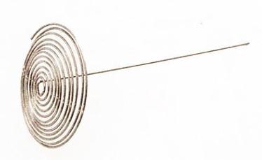 Fissamn Spiral Shaped Tea Pot Strainer 4x4.5cm