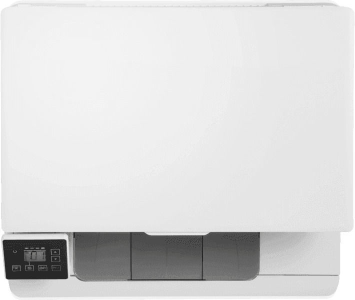 Многофункциональный принтер HP LaserJet Pro MFP M182n, лазерный, цветной