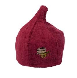 Pirts cepure Namu Tekstile, bordo