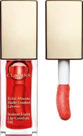 Lūpų balzamas Clarins Instant Light Lip Comfort Oil Red Berry, 7 ml