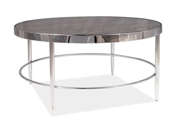 Signal Meble Aurora B Coffee Table Marble/Chrome