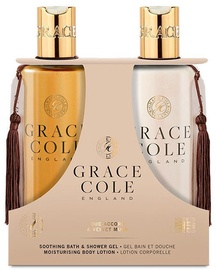 Grace Cole Body Care Duo 300ml Oud Accord & Velvet Musk