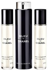 Parfimērijas ūdens Chanel Bleu de Chanel 3x20ml EDP
