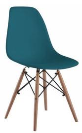 Стул для столовой Signal Meble Enzo Turquoise, 1 шт.