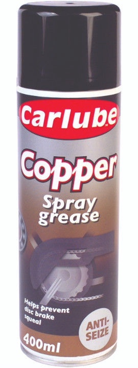 Carlube Copper Spray Grease 400ml