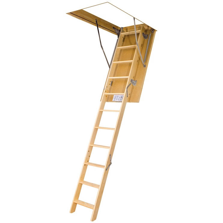 Sulenkiamieji laiptai Fakro LWS-305, 60x140 cm