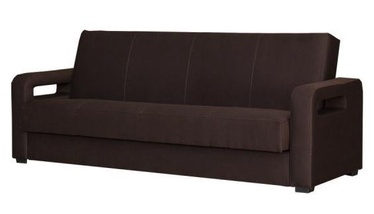 Bodzio Karmona Sofa Fabric Dark Brown