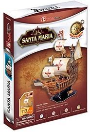 3D-pusle Cubicfun Santa Maria 3D, 113 tk