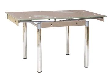 Signal Meble Table GD-082 Dark Beige