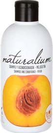 Naturalium Peach Shampoo & Conditioner 400ml