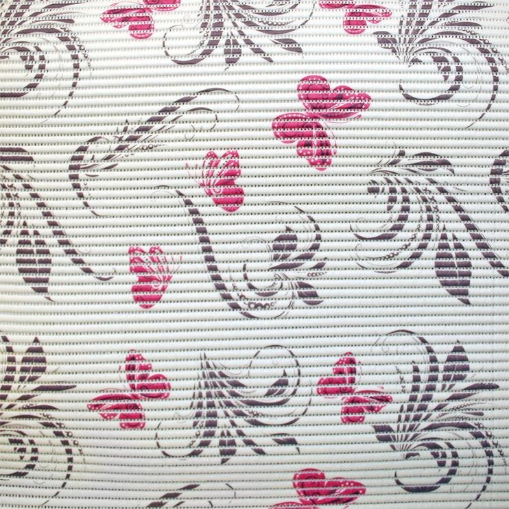 Vannas istabas paklājs Diana Pink Butterfly, 1000x650 mm