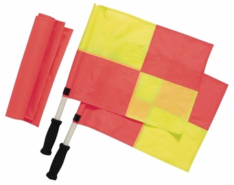 Rucanor Linesman Flag Set 2x2 Yellow/Orange