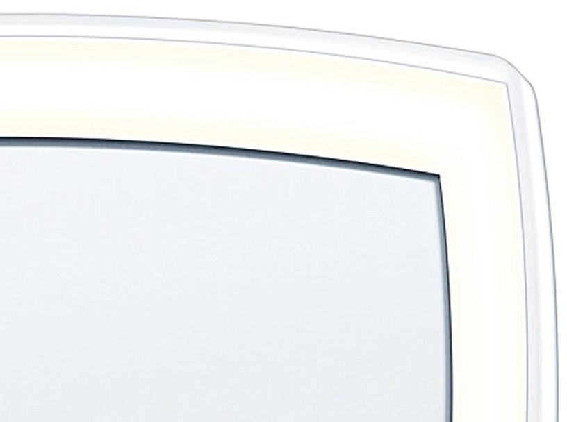 Veidrodis Beurer BS 99 Chrome, su apšvietimu, pastatomas, 20x38.7 cm