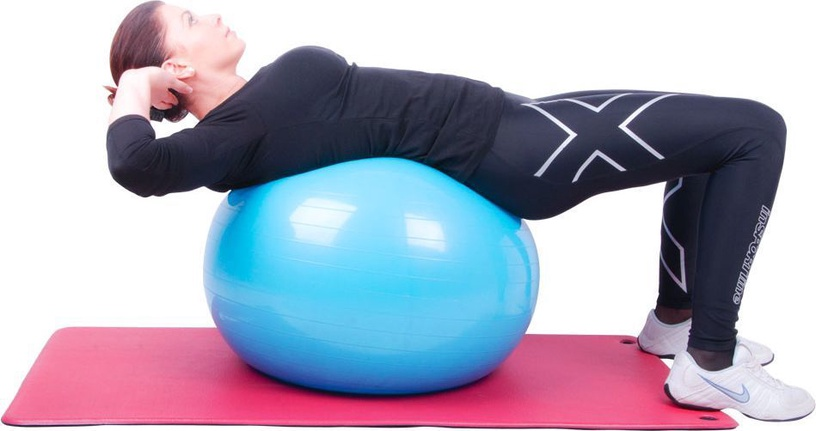 inSPORTline Gymnastics Ball 65cm Green