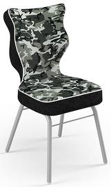 Детский стул Entelo Solo Size 4 ST33, черный/серый, 340 мм x 775 мм