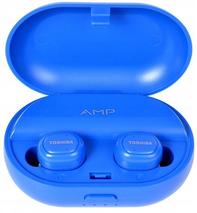 Ausinės Toshiba AMP RZE-BT900E Blue, belaidės