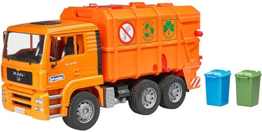 Bruder MAN Garbage Truck Orange 02760