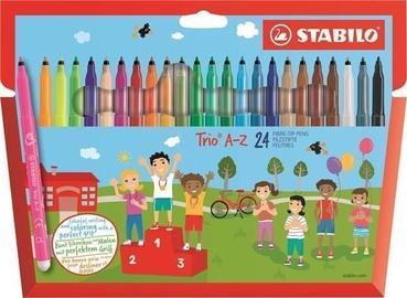 Stabilo Fibre-Tip Pens Trio A-Z 24pcs