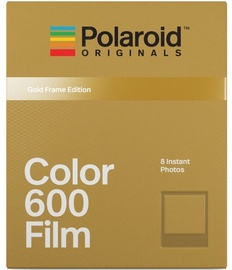 Polaroid Color 600 Film Gold Frame Edition