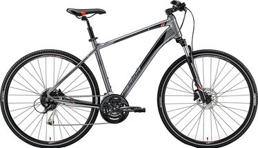 Merida Crossway 100 Grey/Red 47cm/S 2019