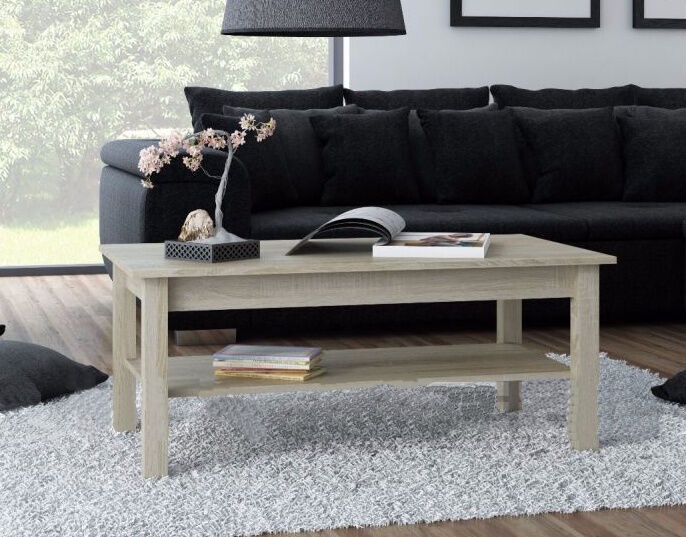 Kafijas galdiņš Cama Meble Uni, ozola, 1100x600x470 mm