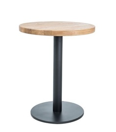 Signal Meble Puro II Table Natural Oak/Black