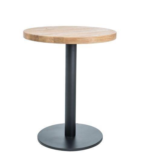 Signal Meble Puro II Table Natural Oak/Black