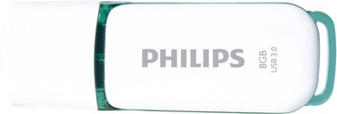 Philips USB Snow Edition Green 8GB