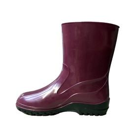Moteriški guminiai batai, su aulu, vyšniniai, 40 dydis