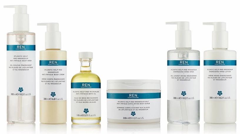 Скраб для тела Ren Atlantic Kelp And Magnesium Salt Anti Fatigue Exfoliating, 150 мл