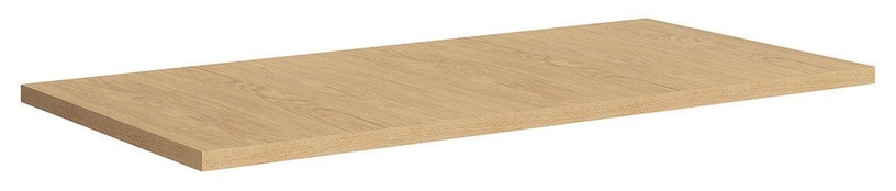 Black Red White Vario Modern Table Top 160x80cm Natural Oak
