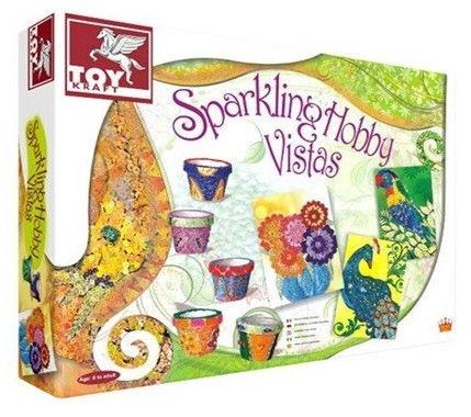 Toy Kraft Creative set Sparkling Hobby 39508