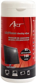 Valymo servetėlės ART XL Cleaner Wipes LCD/TFT 100pcs