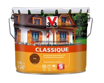 Medienos impregnantas V33 Classique, tiko spalvos, 10 l