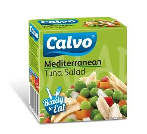 Viduržemio jūros tuno salotos Calvo, 50 g