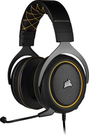 Corsair HS60 PRO Gaming Over-Ear Headset Yellow