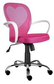 Biroja krēsls Signal Meble Rotary Daisy Pink