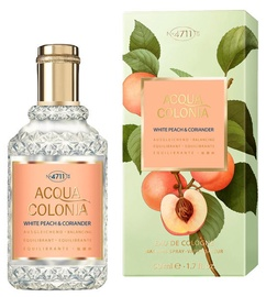 4711 Acqua Colonia White Peach & Coriander 50ml EDC Unisex