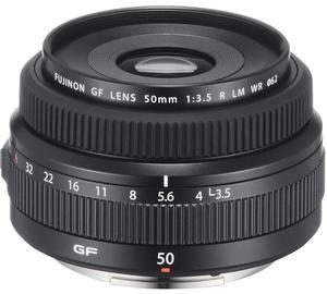 Fujifilm Fujinon GF 50mm F3.5 R LM WR Lens Black