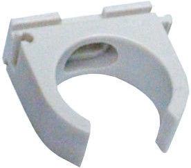 Fplast Pipe Clamp Plastic White 25-26mm