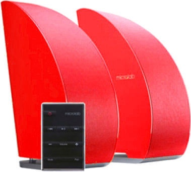 Microlab T-8 2.0 Speakers Red