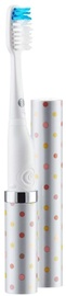 Violife Slim Sonic Classic Electric Toothbrush Silver Dots