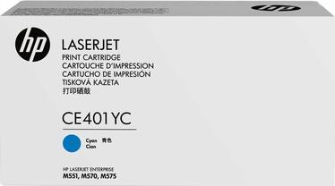 Lazerinio spausdintuvo kasetė HP Toner CE401YC Cyan