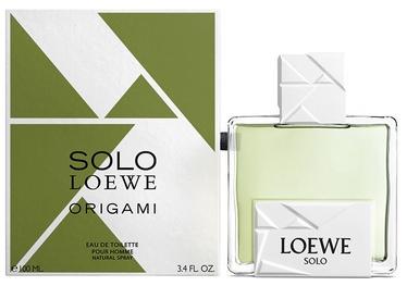Tualetes ūdens Loewe Solo Loewe Origami 100ml EDT