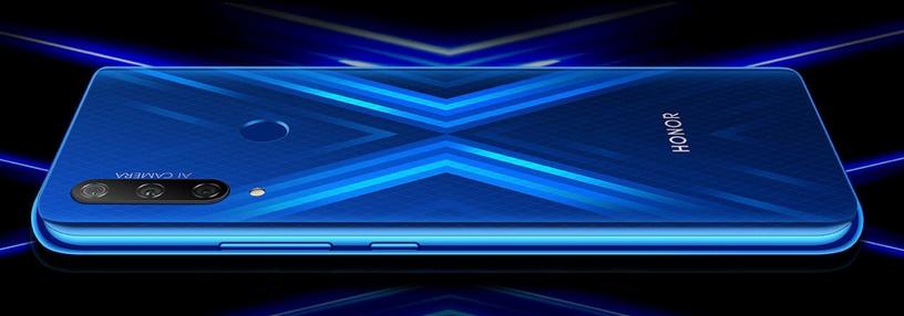 Мобильный телефон Huawei Honor 9X, синий, 4GB/128GB