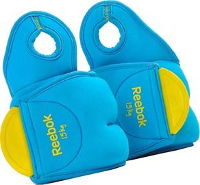 Reebok Color Line Wrist Weights 2x1.5kg