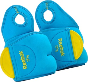 Reebok Color Line Wrist Weights 2x1.5kg