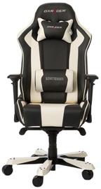 Игровое кресло DXRacer King K06-NW, белый/черный