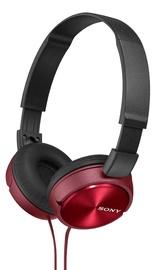 Ausinės Sony MDR-ZX310 Red