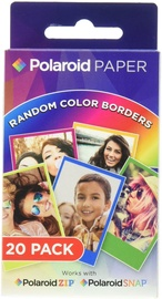 Polaroid ZINK Premium Rainbow Frame Film 20-pack